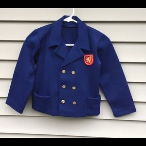 Vintage Double breasted Harry Potter blazer